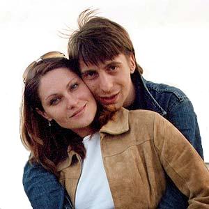Михаил Зелениский и жена Оля