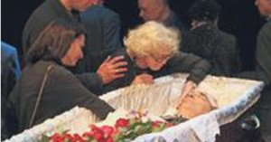 Похороны Александра Лазарева