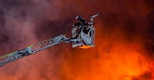 Пожар на складе Микояновского мясокомбината
