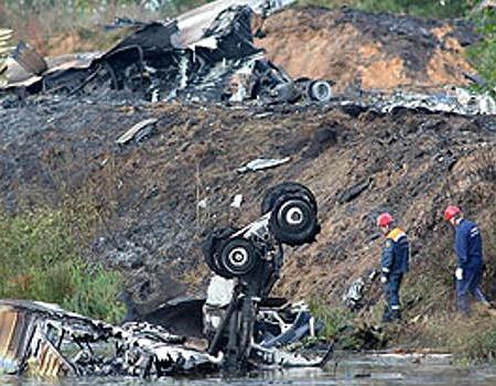 Авиакатастрофа под Ярославлем