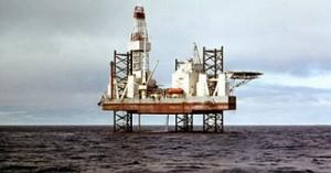 В Охотским море утонула платформа