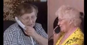 Двойняшки встретились после семидесяти лет разлуки