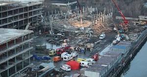 Обрушение здания в Москве