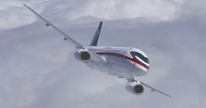 Самолет Сухой Суперджет 100 разбился при показательном полете