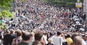 В Москве состоялся марш миллионов