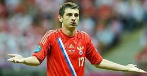 Евро-2012 болельщики устроили потасовку с игроками Сборной России
