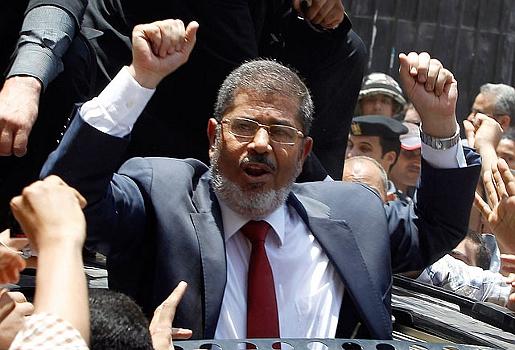 Мухаммед Мурси новый президент Египта