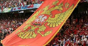 Российские болельшики в Польше