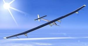Самолет на солнечных батареях совершил перелёт из Европы в Африку