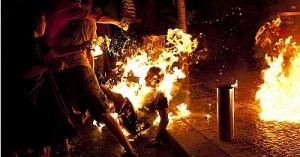 Инвалид совершил самосожжение в Израиле