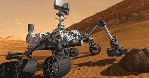 Марсоход совершил успешную посадку на поверхности Марса