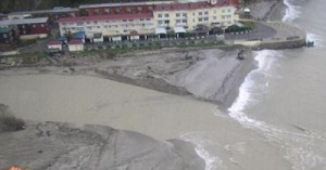Наводнение в поселке Новомихайловский