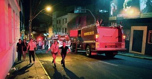 Пожар в ночном клубе в Бразилии