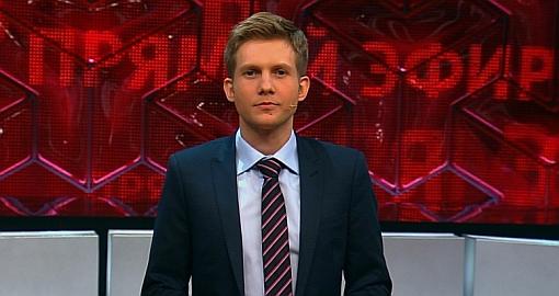 Прямой эфир на канале Россия-1 с Борисом Корчевниковым.