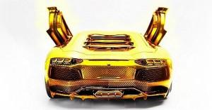 В Дубае продают самый дорогой автомобиль из золота и бриллиантов