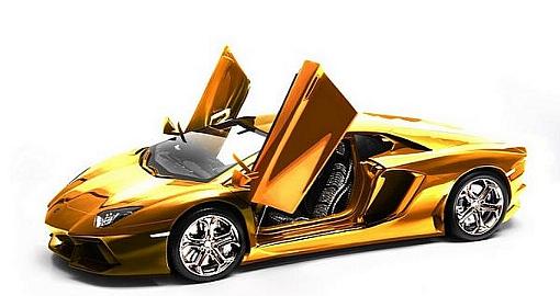 Lamborghini из золота и бриллиантов