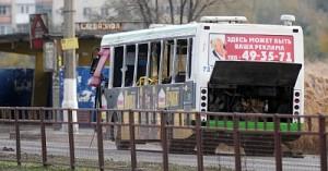 В волгоградском автобусе сработала бомба мощностью в 2-3 кг тротила
