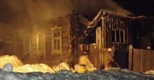 Мать с четырьмя детьми погибли при пожаре в Удмуртии
