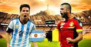 Чемпионат мира в Бразилии: Аргентина - Бельгия