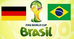 Чемпионат мира в Бразилии: Бразилия - Германия