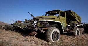 Москва приостановила передачу Украине военной техники из Крыма до прекращения боев