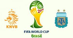 Чемпионат мира в Бразилии: Нидерланды - Аргентина