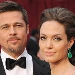 Голливудские звезды Брэд Питт и Анджелина Джоли поженились во Франции
