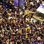 Давка в Шанхае унесла жизни 35 человек