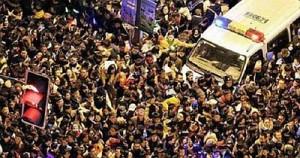 Давка в Шанхае унесла жизни 35 человек: отменены все праздничные мероприятия
